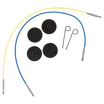 KnitPro Câbles pour aiguilles circulaires, 40 et 50 cm
