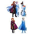 """Disney Applikationen """"Frozen 2"""", Grösse: 3–8 cm, Inhalt: 4 Stück"""
