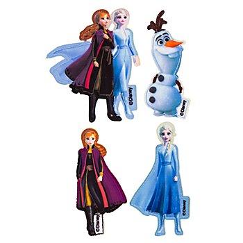 Disney Applikationen 'Frozen 2', Grösse: 3–8 cm, Inhalt: 4 Stück