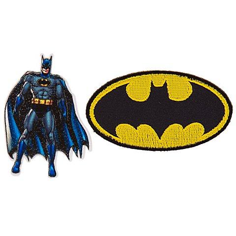 "Image of Applikationen ""Batman"", Grösse: 5&ndash_8 cm, 2 Stück"