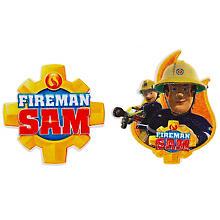 MonoQuick Applikationen 'Feuerwehrmann Sam', 7–8 cm, 2 Stück
