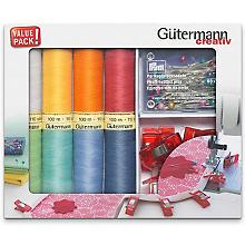 Gütermann Kit de couture avec bobines, pinces et épingles