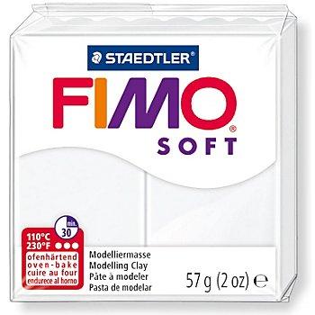 Fimo-Soft, weiß, 57 g