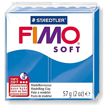 Fimo-Soft, blau, 57 g