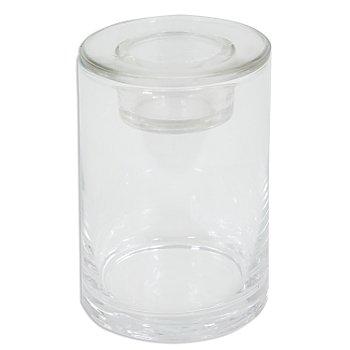 Glasgefäß, 9 cm Ø, 13,5 cm