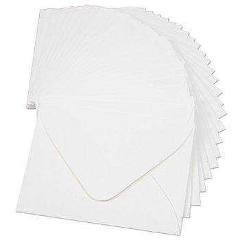 Mini-Kuverts, weiß, 57 x 71 mm, 25 Stück