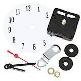 Uhren-Set mit Uhrwerk, Zeigern und Ziffernblatt