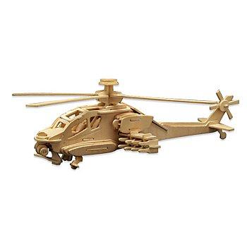 Kit créatif en bois 'Hélicoptère', 40 x 13 cm