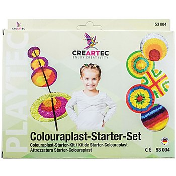 Schmelzgranulat Starter-Set, Colouraplast