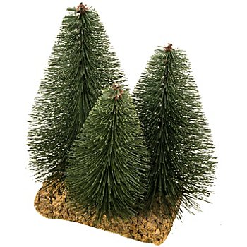 Baum-Gruppe mit 3 Bäumen, 15 x 12 x 20 cm
