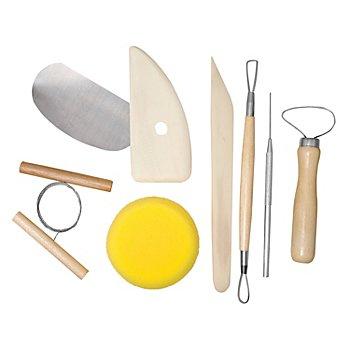 Töpferwerkzeug-Set, 8-teilig