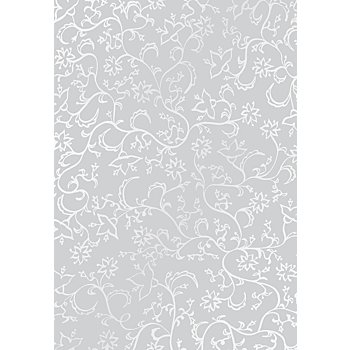 Transparentpapier 'Ranken', weiß, DIN A4, 10 Blatt