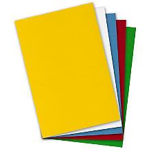 Feutrine à modeler, multicolore, 30 x 45 cm, 5 pièces
