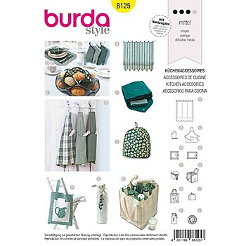 burda Schnitt 8125 'Küchenaccessoires'