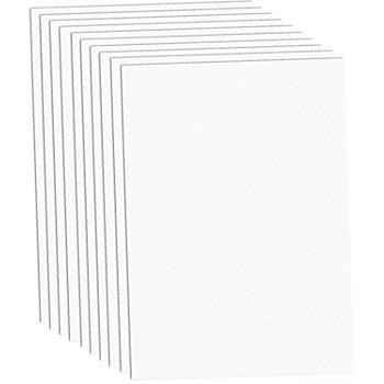 Carton teinté blanc, 50 x 70 cm, 10 feuilles
