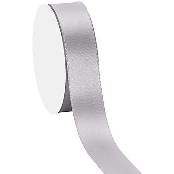 Satinband, silber, 25 mm, 10 m