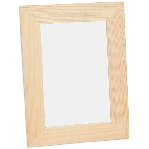 Image of Bilderrahmen aus Holz, 15 x 20 x 1 cm