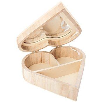 Schmuckschatulle 'Herz' aus Holz
