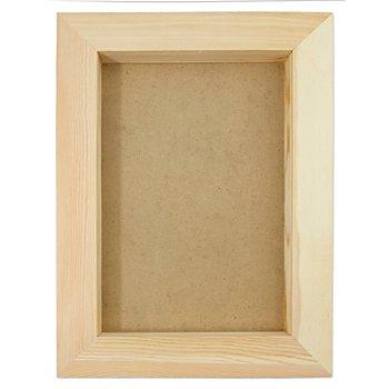 Cadre photo 3D en bois, 36 x 27 x 3 cm