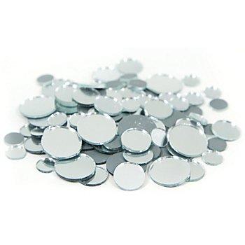 Spiegel-Mosaik, rund, 10–20 mm Ø, 100 g