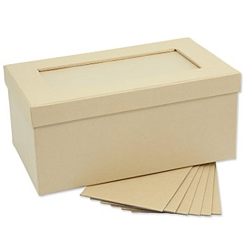Rechteckige Fotobox aus Pappe