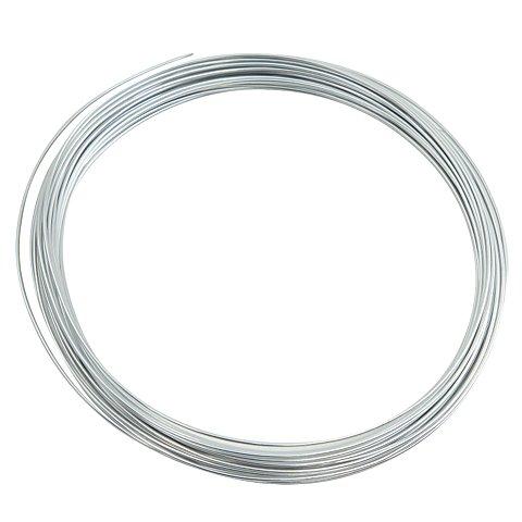 Image of Aludraht, silber, 1 mm Ø, 10 m