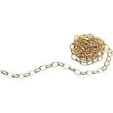 Gliederkette, gold, 4 x 7 mm, 1 m