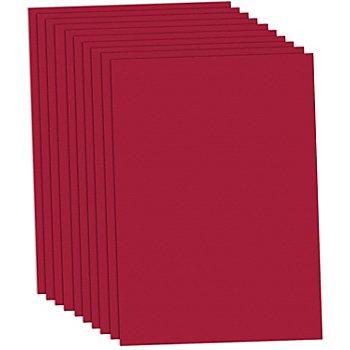 Tonzeichenpapier, weinrot, 50 x 70 cm, 10 Blatt