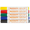 buttinette Stoffmalstifte-Set, 5er-Pack