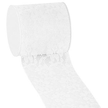 Spitzenband, weiß, 72 mm, 5 m