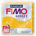 Fimo effect, gold mit Glitzer, 57 g