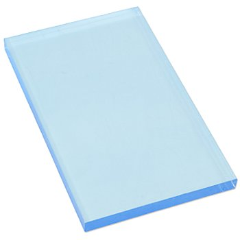 Plaque acrylique, 10 x 16 x 1 cm