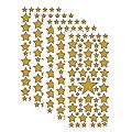 """Klebesticker """"Sterne"""", gold, 23 x 10 cm, 5 Bogen"""