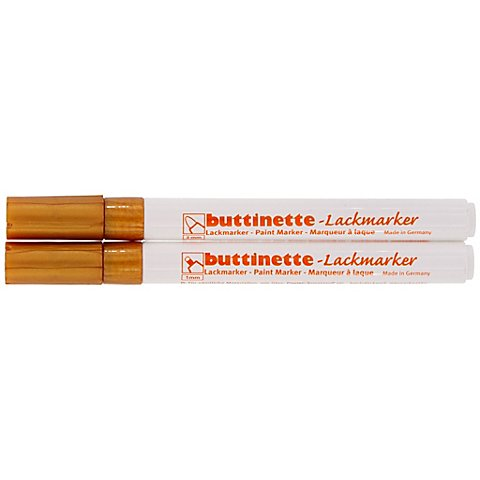 Image of buttinette Lackmarker, gold