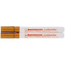 buttinette Lackmarker, gold