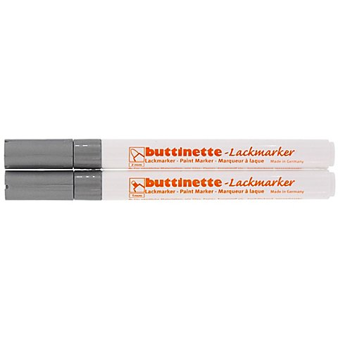 Image of buttinette Lackmarker, silber