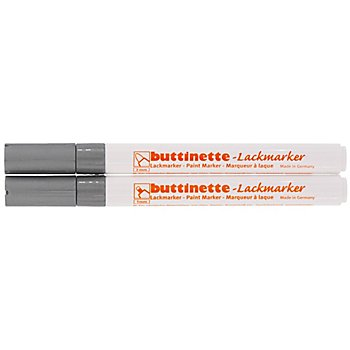 buttinette Lackmarker, silber