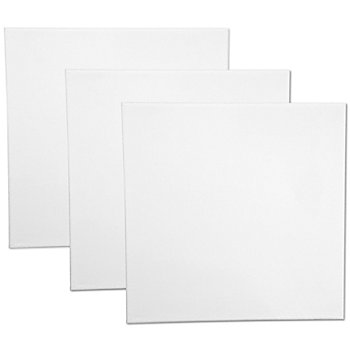 Keilrahmen-Set 'Quadrat', 3er-Pack