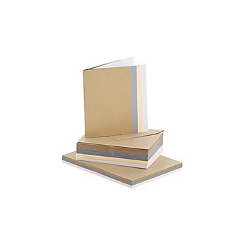 Mini-Doppelkartenset 'Edel', je 40 Stück