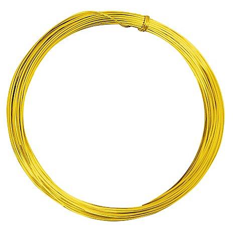 Image of Aludraht, gold, 1 mm Ø, 10 m