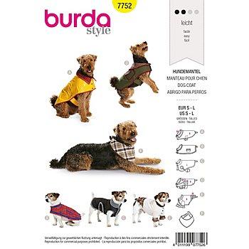burda Patron 7752 'manteau pour chien'
