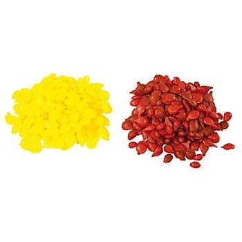 Färbepastillen, rot/gelb