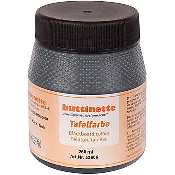 buttinette Tafelfarbe, 250 ml, schwarz