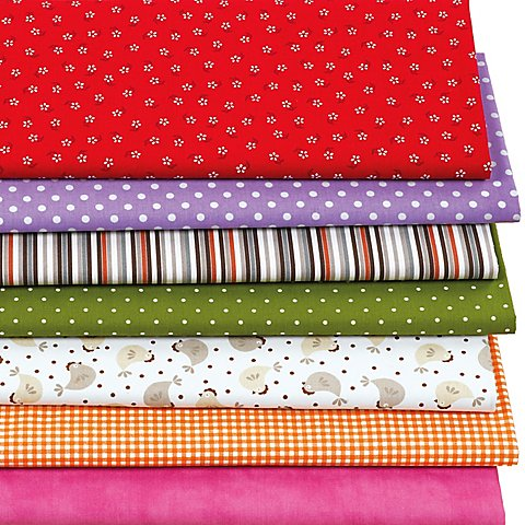 """Image of Patchwork-Überraschungspaket """"Muster-Mix"""", je nach Anfall"""