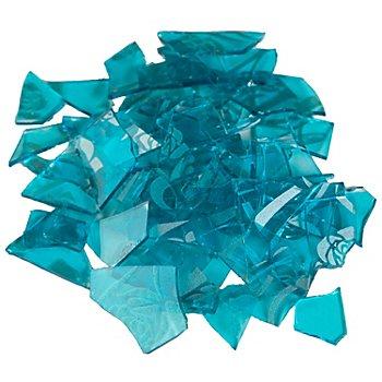 Retro-Mosaik, türkis/silber, 2–3 cm, 100 g