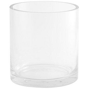 Glasvase, rund, 13,5 cm