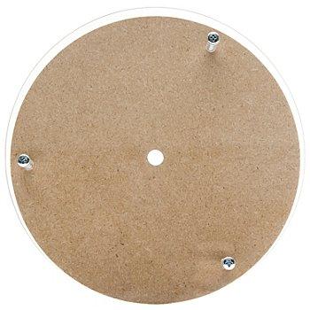 MDF/Acrylglas-Uhrenrohling, 19 cm Ø