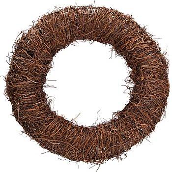 Couronne en sarment de vigne, 32,5 cm Ø