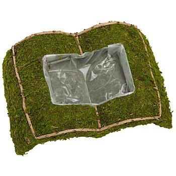 Moos-Pflanzbuch, 38 x 25 x 10 cm