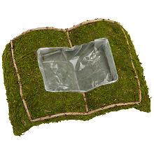 Moos-Pflanzbuch 38 x 25 x 10 cm